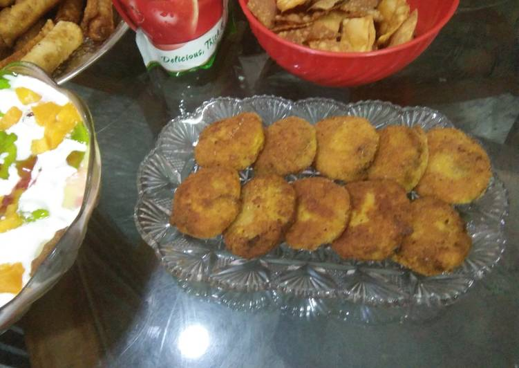 Recipe of Favorite Aloo shami kabab
