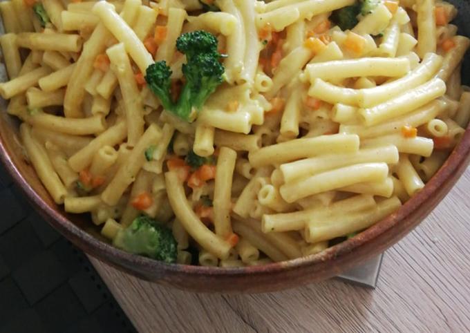 Der einfache Weg Um Preisgekrönte Möhren-Brokkoli mit einer Sahne-Sherry-Curry-Soße zu machen