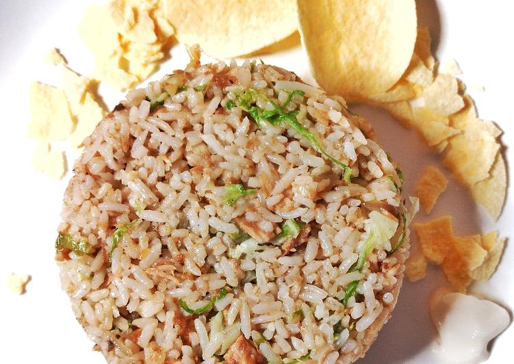 Nasi Goreng Tuna Praktis