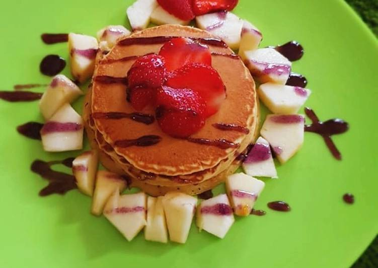 Resep Menu Kost #12 – Pancake Simple Paling Top