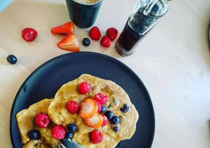 American pancakes version healthy
