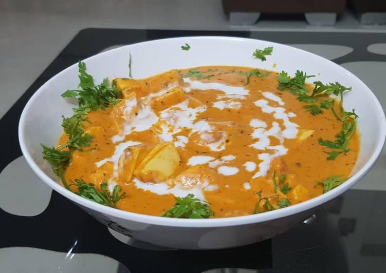 Restaurant style paneer angara smoky flavoured