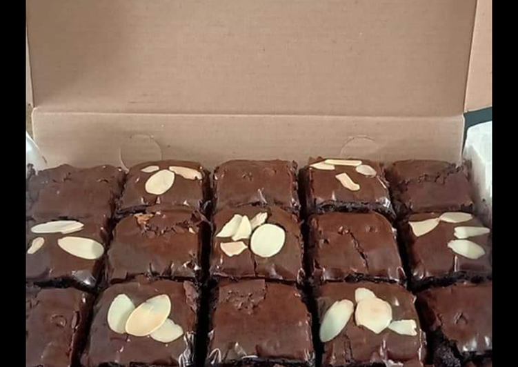 Brownies panggang by @dapurAmi