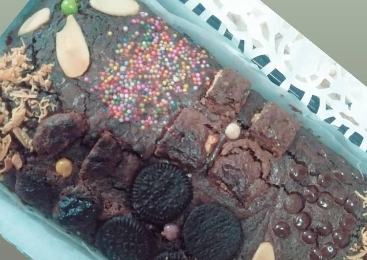 Brownies (shiny & crust)