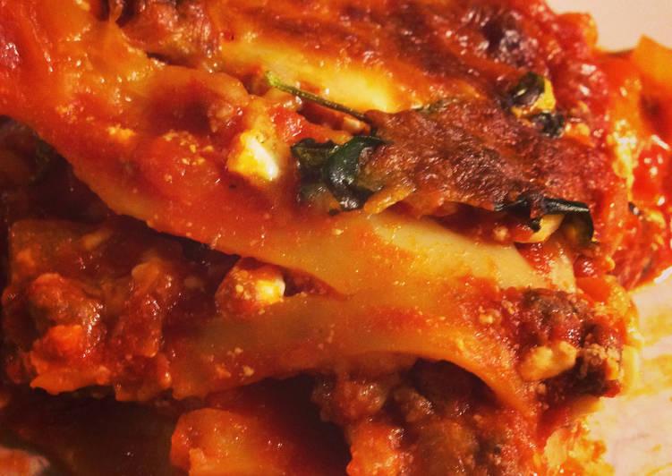Recipe of Perfect Bison Lasagna