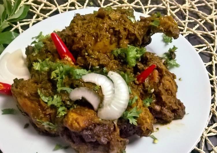 Gongura Chicken Fry