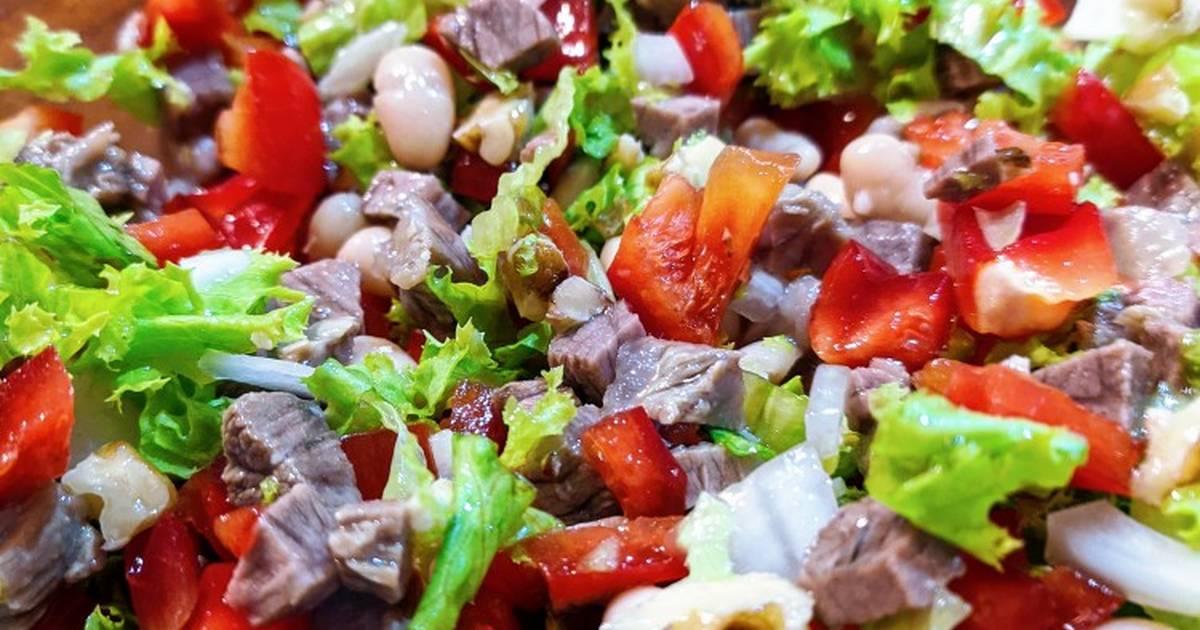 азербайджанские салаты рецепты с фото сделаны обычный