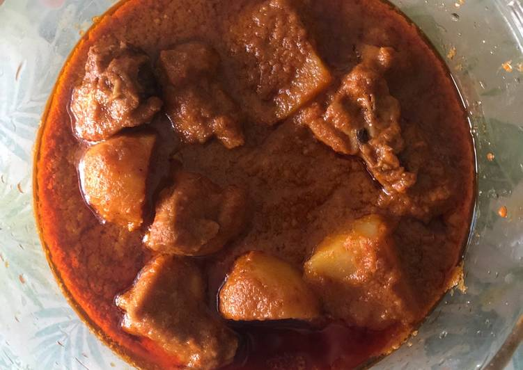 Bachelor's Chicken Curry / easy simple chicken curry
