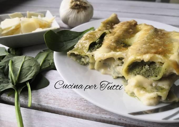 Cannelloni ricotta épinards