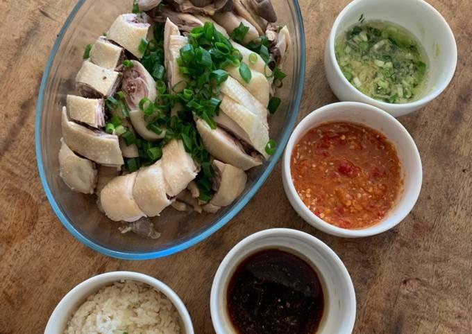 Hainanese Chicken / Ayam Hainan 🐔