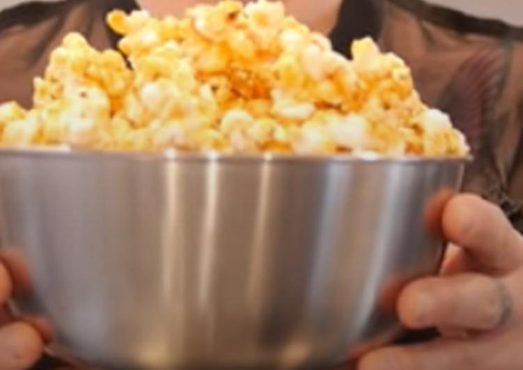 Caramel popcorn 🍿