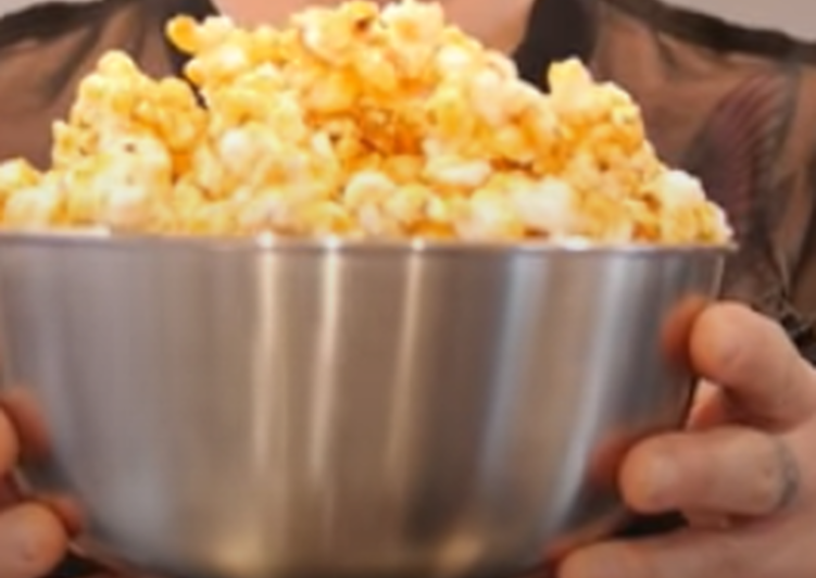 Steps to Make Most Popular Caramel popcorn 🍿