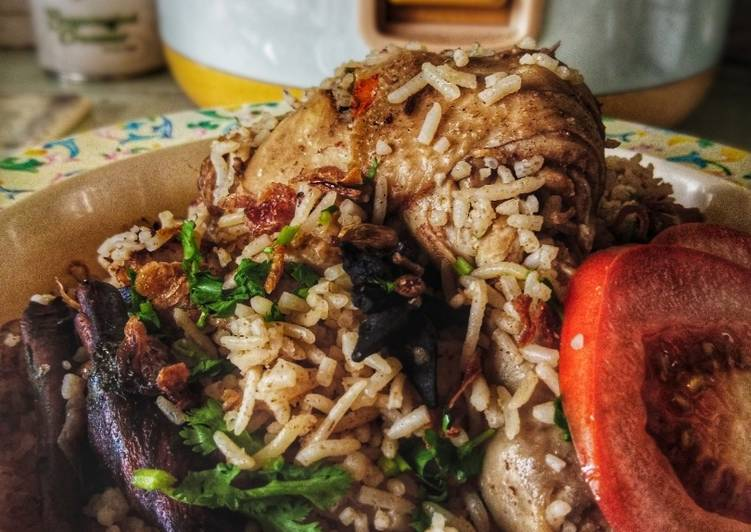 Nasi Briani Ayam Rice Cooker
