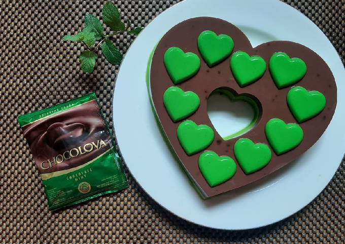 Puding Love Choco Mint