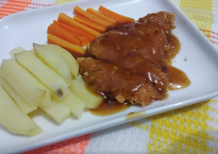 Steak Ayam Simpel