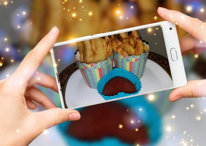 Crispy french fries iftar special