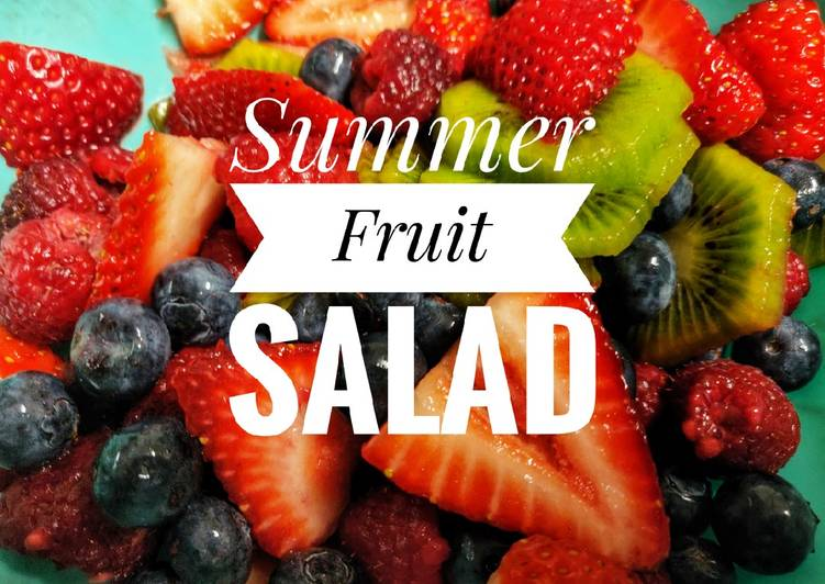 How to Prepare Ultimate Summer Fruit Salad🍓
