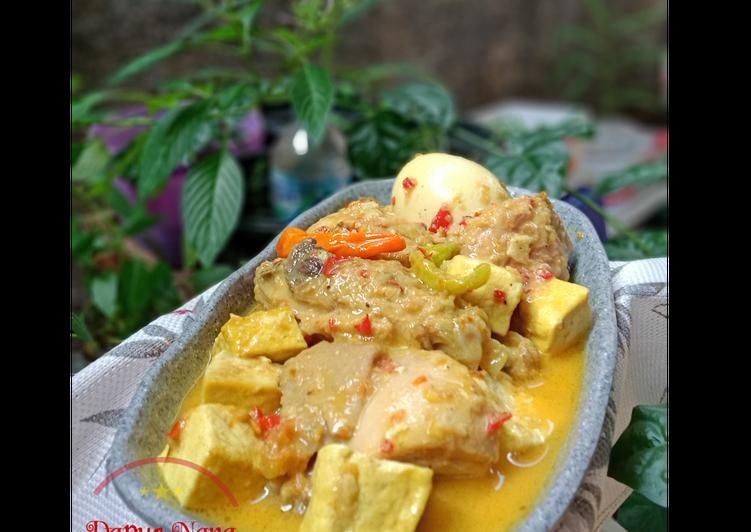 🐔 Ayam pedas kuah santan 🐔