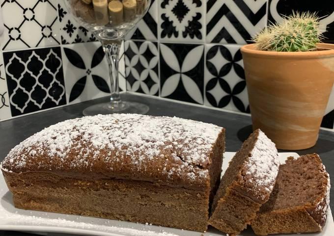 Gâteau à la danette au chocolat