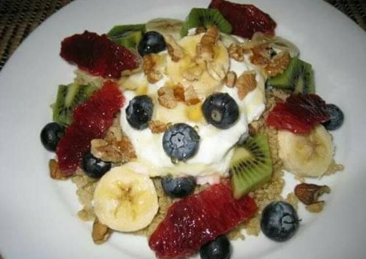 Fruit dessert 😄😄