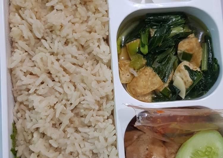 Bekal Suami Nasi Hainan (rice cooker)