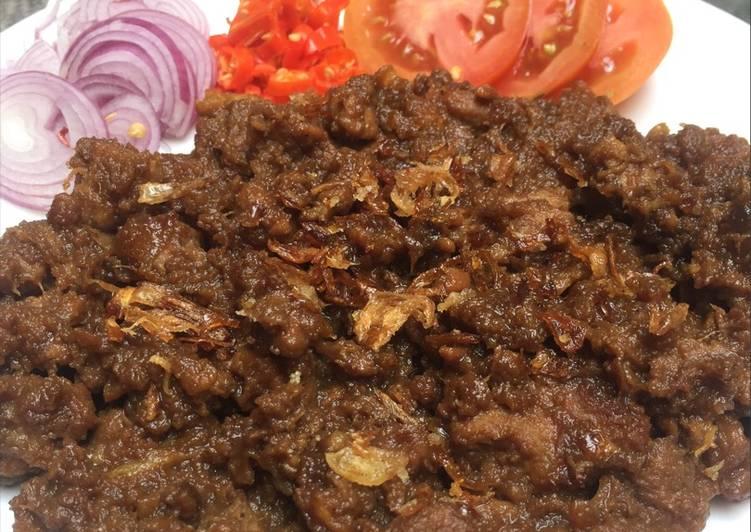 Resep Sate kambing goreng #Kitaberbagi Bikin Laper