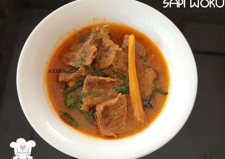Daging Sapi Woku