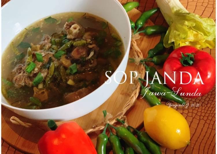Sop Janda (Jawa-Sunda)🧄🥩🌶🍲