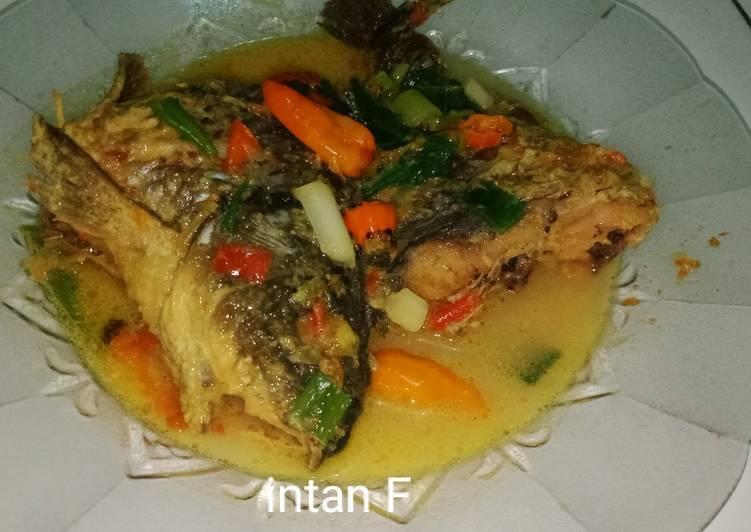 Cara membuat Gulai ikan mas yang lezat dan Mudah Dibuat