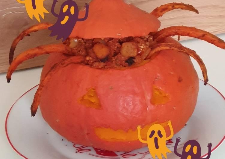 Courge/carottes/patate douce au four et son hachée à la tomate