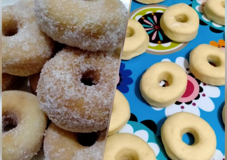 Cara Mudah Masak: Donut tembam  Termudah