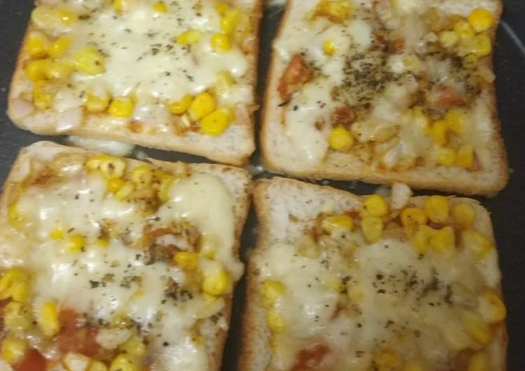 Step-by-Step Guide to Prepare Ultimate Sweetcorn sandwich