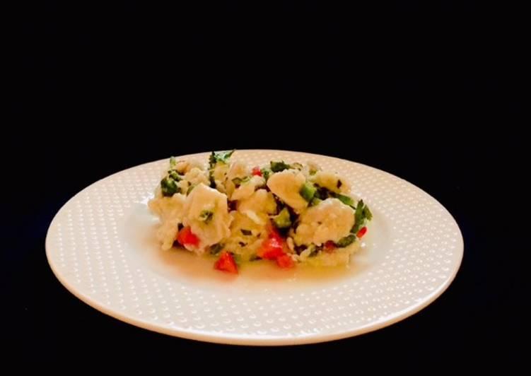 Easy to Prepare Super Quick Homemade Kingfish Ceviche