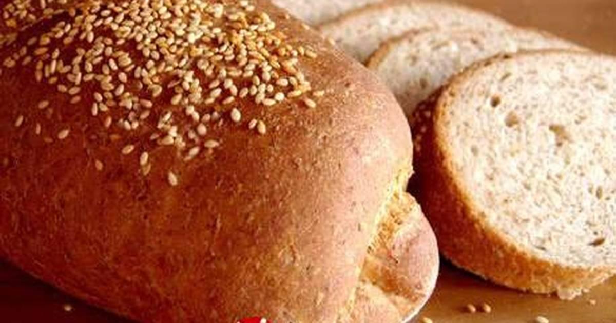 Ψωμί με σουσάμι συνταγή από Liza - Cookpad