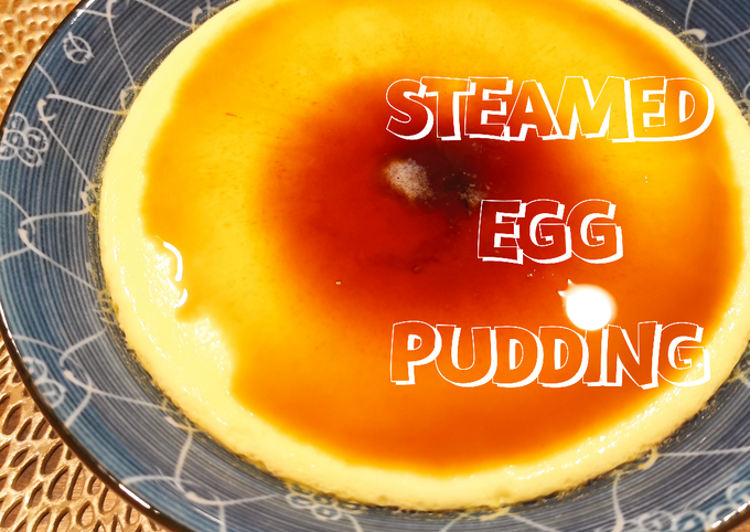 Chinese Steamed Egg Pudding