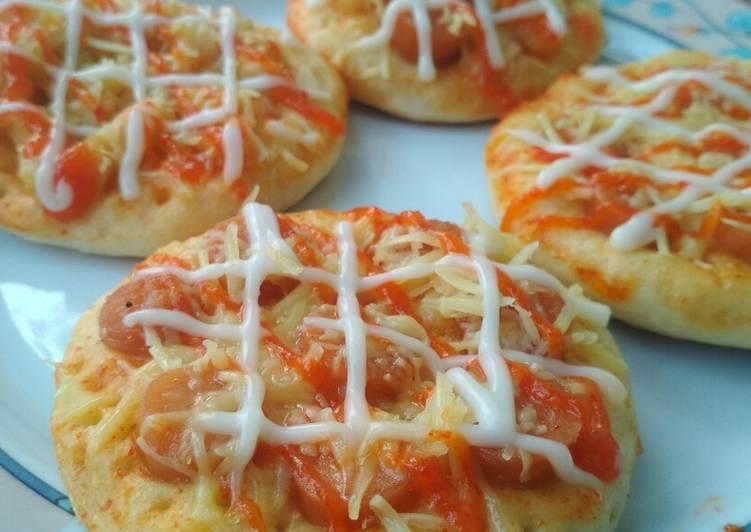 Pizza mini takaran sendok