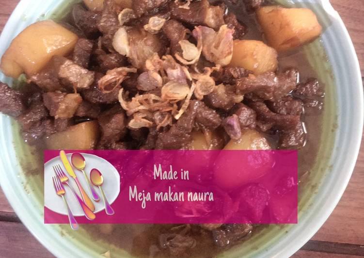 Semur daging nusantara