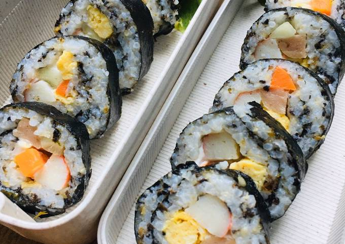 Sushi (Simple Clean Eating) (Ide Bekal)
