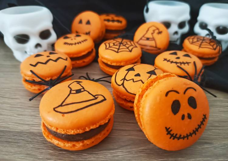 Macarons d'Halloween 🎃🍬👻