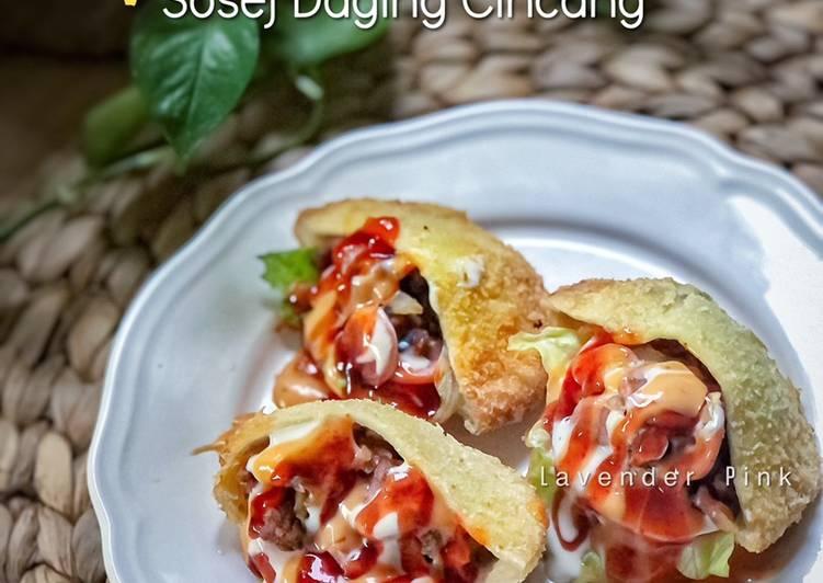 Poket Sosej Daging Cincang