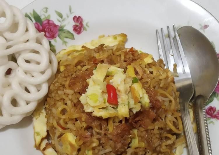 Nasi Goreng Mawut Pedas