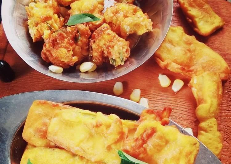 30 Minute Steps to Prepare Speedy Two type crispy pakoda