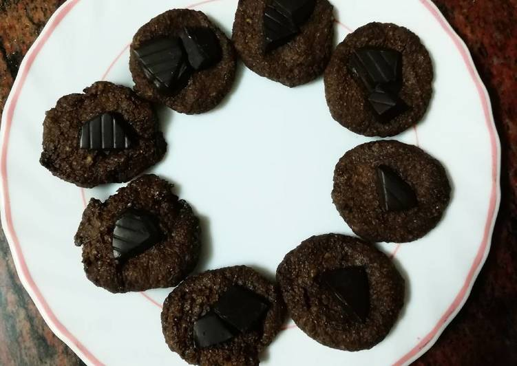 Galletas chocolate healthy