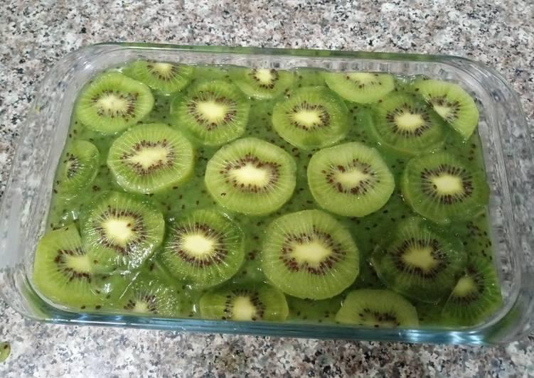 Easiest Way to Make Perfect Kiwi 🥝 dessert
