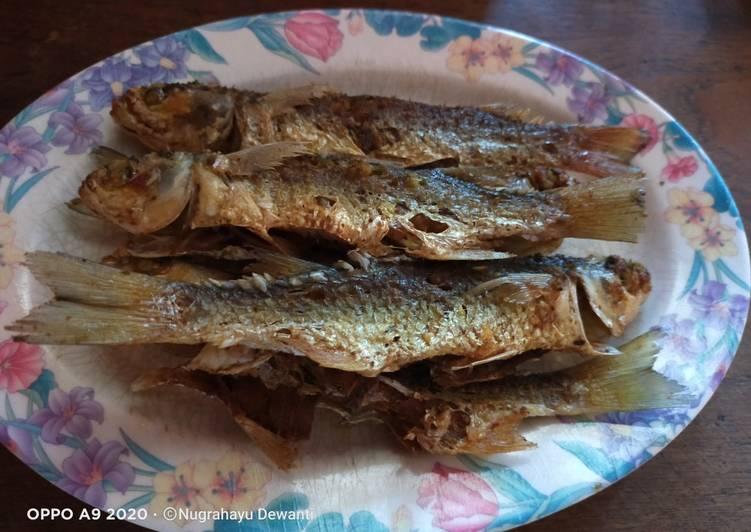 Ikan Belanak Goreng
