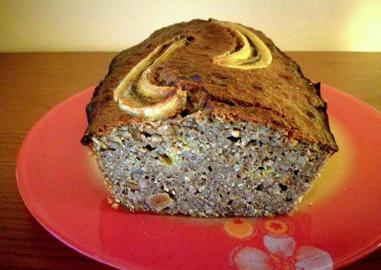 Banana bread saludable - proteico - low carb