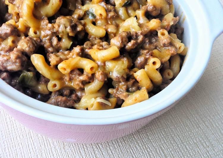 Cheeseburger Macaroni