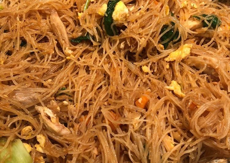Recipe of Award-winning Bihun Goreng (Fried Rice Noodles)