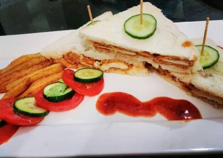 Zinger sandwich 😍