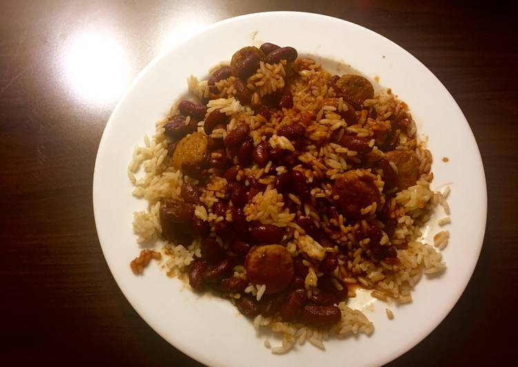 Recipe: Tasty Red Beans and Rice